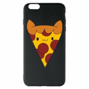 Etui na iPhone 6 Plus/6S Plus Pizza cat