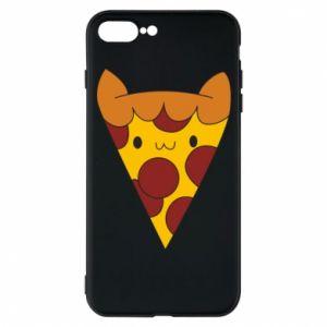Etui do iPhone 7 Plus Pizza cat
