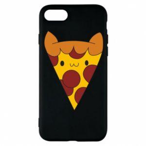 Etui na iPhone 8 Pizza cat