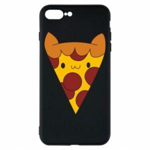 Etui na iPhone 8 Plus Pizza cat