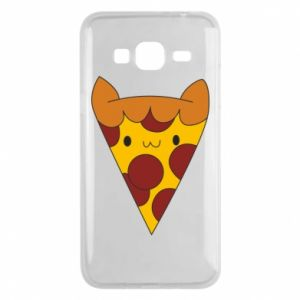 Etui na Samsung J3 2016 Pizza cat