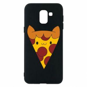 Etui na Samsung J6 Pizza cat