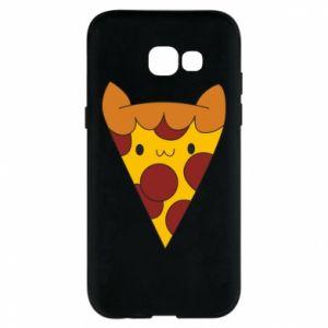 Etui na Samsung A5 2017 Pizza cat