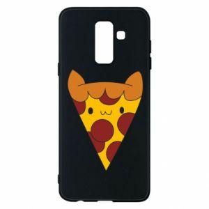 Etui na Samsung A6+ 2018 Pizza cat