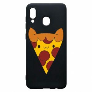 Etui na Samsung A30 Pizza cat