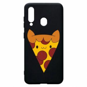 Etui na Samsung A60 Pizza cat