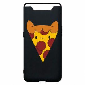 Etui na Samsung A80 Pizza cat