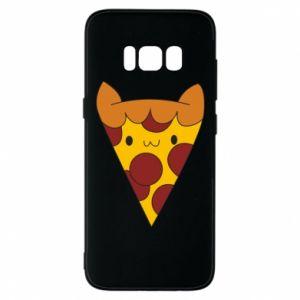 Etui na Samsung S8 Pizza cat
