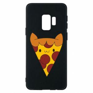 Etui na Samsung S9 Pizza cat