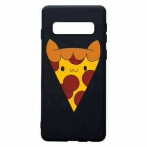 Etui na Samsung S10 Pizza cat