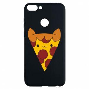 Phone case for Huawei P Smart Pizza cat - PrintSalon