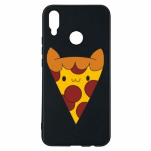 Etui na Huawei P Smart Plus Pizza cat