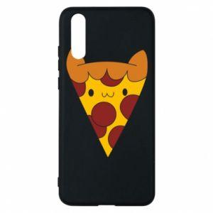 Etui na Huawei P20 Pizza cat