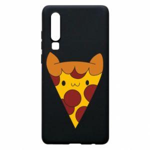 Etui na Huawei P30 Pizza cat