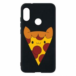 Etui na Mi A2 Lite Pizza cat