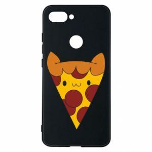 Etui na Xiaomi Mi8 Lite Pizza cat