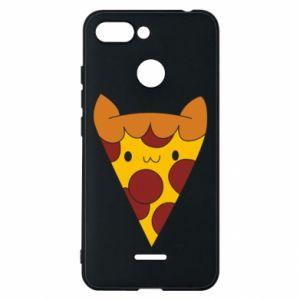 Etui na Xiaomi Redmi 6 Pizza cat