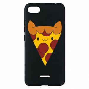 Etui na Xiaomi Redmi 6A Pizza cat