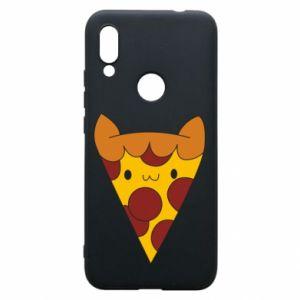 Etui na Xiaomi Redmi 7 Pizza cat