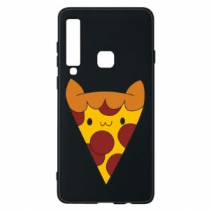 Etui na Samsung A9 2018 Pizza cat