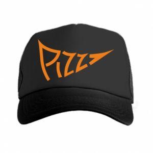Czapka trucker Pizza inscription