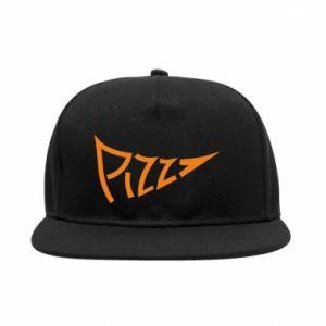 Snapback Pizza inscription