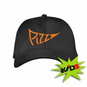 Dziecięca czapeczka z daszkiem Pizza inscription