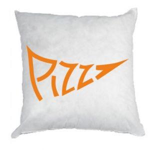 Poduszka Pizza inscription