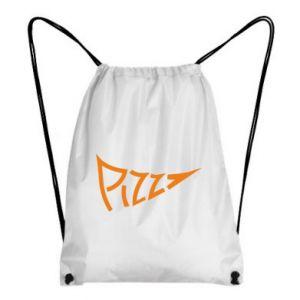 Plecak-worek Pizza inscription