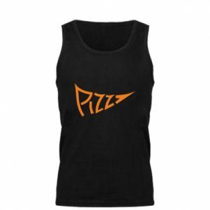 Męska koszulka Pizza inscription