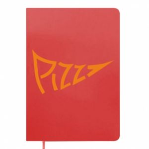 Notes Pizza inscription