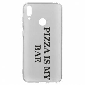 Huawei Y7 2019 Case PIZZA IS MY BAE