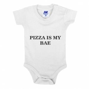 Baby bodysuit PIZZA IS MY BAE