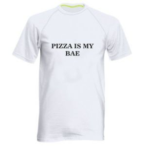 Men's sports t-shirt PIZZA IS MY BAE