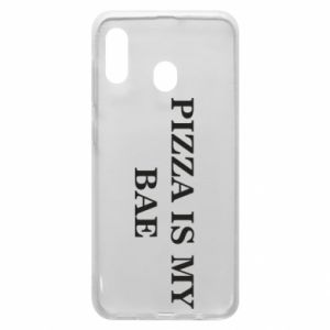 Phone case for Samsung A20 PIZZA IS MY BAE