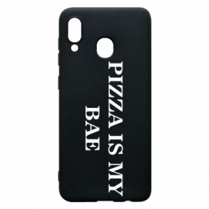 Phone case for Samsung A30 PIZZA IS MY BAE