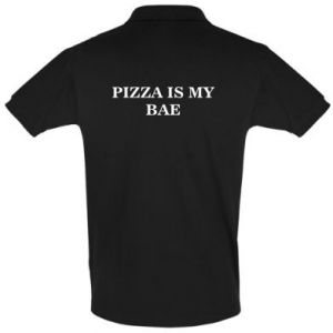 Men's Polo shirt PIZZA IS MY BAE