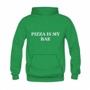 Kid's hoodie PIZZA IS MY BAE