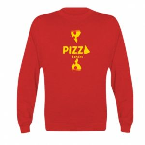 Bluza dziecięca Pizza lover