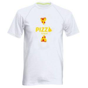 Koszulka sportowa męska Pizza lover