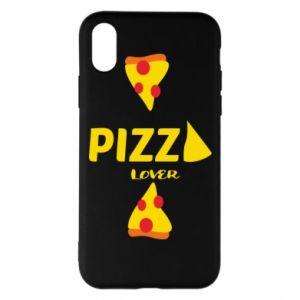 Etui na iPhone X/Xs Pizza lover