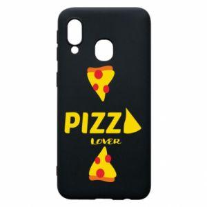 Etui na Samsung A40 Pizza lover
