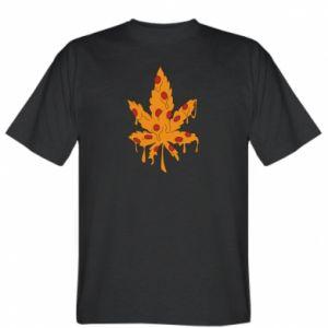 T-shirt Pizza marijuana