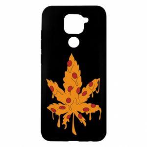 Etui na Xiaomi Redmi Note 9/Redmi 10X Pizza marijuana