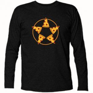 Koszulka z długim rękawem Pizza pentagram