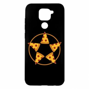 Etui na Xiaomi Redmi Note 9/Redmi 10X Pizza pentagram