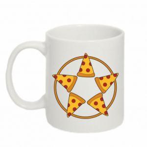 Mug 330ml Pizza pentagram