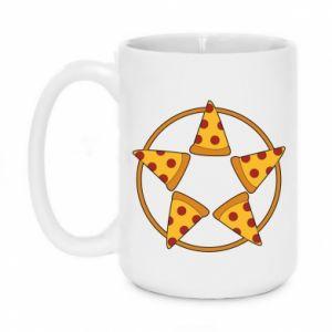 Kubek 450ml Pizza pentagram