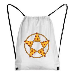 Plecak-worek Pizza pentagram