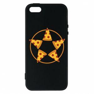 Etui na iPhone 5/5S/SE Pizza pentagram
